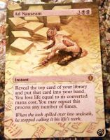 Altered card - Ad Nauseam by JohannesVIII