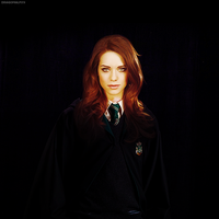 LYNDSY FONSECA - SLYTHERIN by archiburning