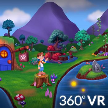 Leo's Forest Temo Falls VR by LuigiL