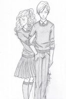 Rose and Scorpius by chrysalisgrey