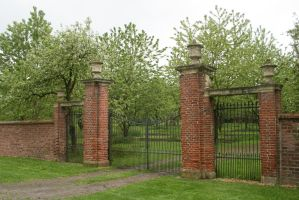 gate to an old orchard  01 by Nexu4