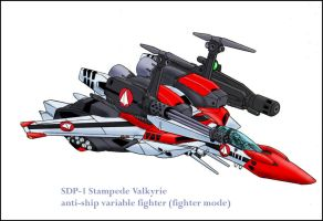 SDP-1 Fighter mode by zeiram0034