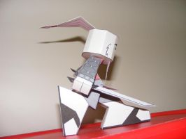 Hare paper toy 4 by IdeatoPaperStudios