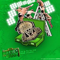WWE Money In The Bank 2014 Custom Poster by JrbDesign