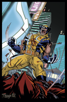 Wolverine Tokyo Cover/Capa by ThiagoBColors