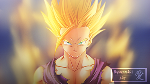 Son Gohan SS2 | Coloration by xRyuuzakii