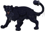 Commission- Black Leopard by Gashu-Monsata