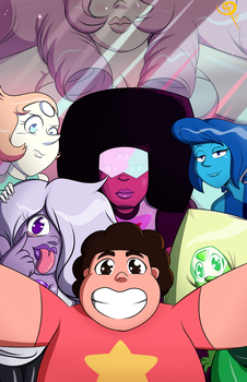 We are the Crystal Gems! by Chillguydraws