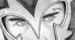 Magneto CLOSE UP by Becky0109