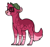 Dog-creature 1 adoptable OPEN by snowgraywhite