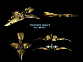 Protoss Scout by crazyYoda