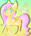 Small Candy- Chibi Fluttershy by UmiMizunone