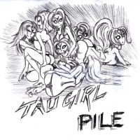 Tau Girl Pile by Gannadene