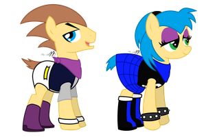 [Request] Prentis the Hedgehog and Lizzie Rose by KiRRol