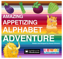 Kawaii - Amazing Appetizing Alphabet Adventure! by KawaiiUniverseStudio
