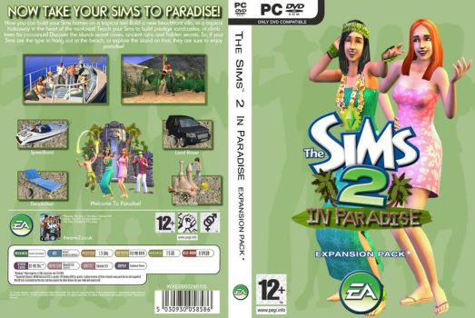 Sims 2 - In Paradise by cazarupt