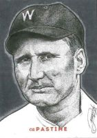 Walter Johnson by JRosales1