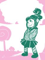 Vanellope by Toxandreev