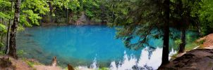 Blue Lake by enigmaticworld