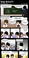 Death Note: High School'd by mayanna