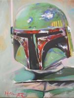 Boba Fett by HillaryWhiteRabbit