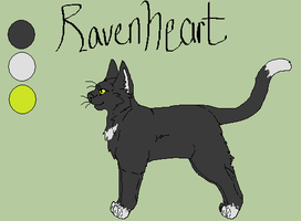 Ravenheart ref. by Ink--Chan