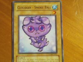 YuGiOh Card Altered Art: Espurr by Spoopi
