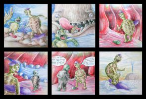 Turtle Storyboard - All by atalaycankaya