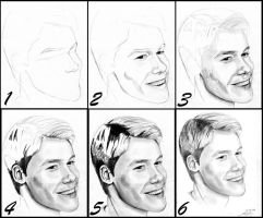 Randy Harrison: step by step by vongue