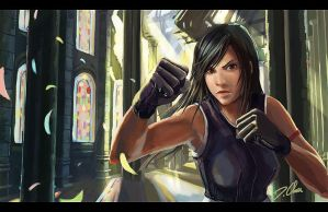Tifa: Come and Dance by Zureul