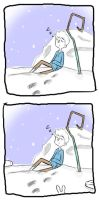 Sleeping with Snow Bunnies by Laughing-SkullZ