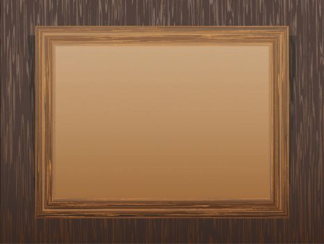 Brown-Wooden-Frame-Backgrounds by ppttemplates
