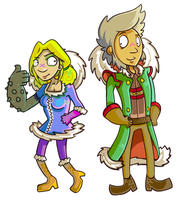 Fresia and Ted - CUTE by Poj5