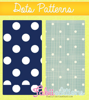 Dots Patterns by fabii27