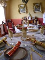Table on Christmas Eve by Hungary2702