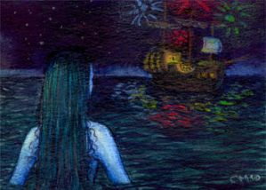 ACEO 3 - The Little Mermaid 02 by sikard