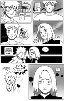 NARUSAKU doujinshi 'JUST SMILE' PAGE 5 ENG by Karola2712