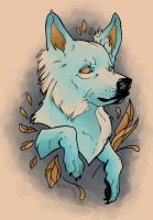 Wolf Tattoo by blindthistle