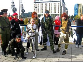 Metal Gear Solid Group by Lozeng3r