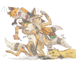 A bunch of TNTs by TNT-DOG