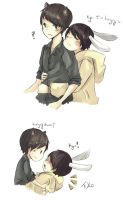 Kyumin: I'm hungry by Fuko-chan