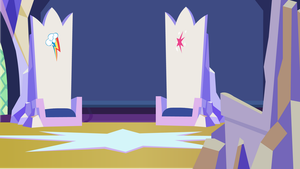 Twilight's Castle Main Room by YoshiPapaercrafter