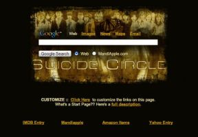 Suicide Circle Startpage by AwesomeStart