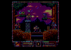 Cosmic Prison Commando - 14th Jun 2014 by Carnivius