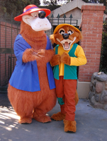 Brer Bear and Fox by 413X