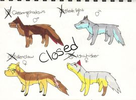 Wolf Pack adopts#3 (closed) by XTwilight-SerenityX