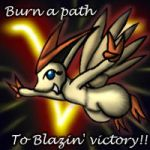 Blazin' Victory MSN Icon by Snowfyre