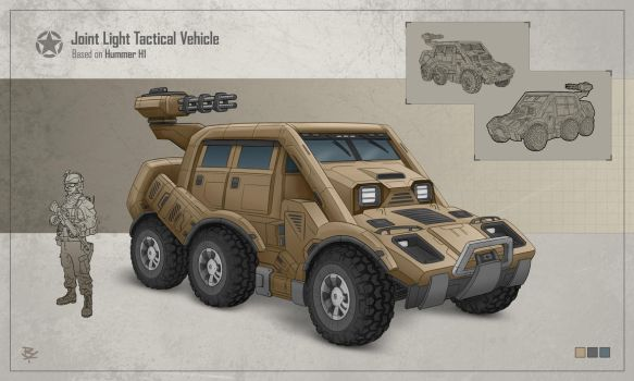Joint Light Tactical Vehicle by RadoArts