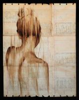 Girl fading back 1 by MichaelAaronWilliams