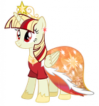 Solar's wedding dress by Slyder48